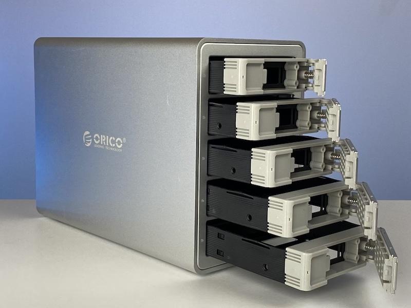 caja RAID Orico bahías extraibles