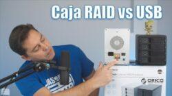 Diferencias entre una caja RAID y una caja US