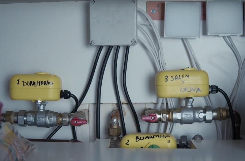 calefacción domótica netatmo por zonas