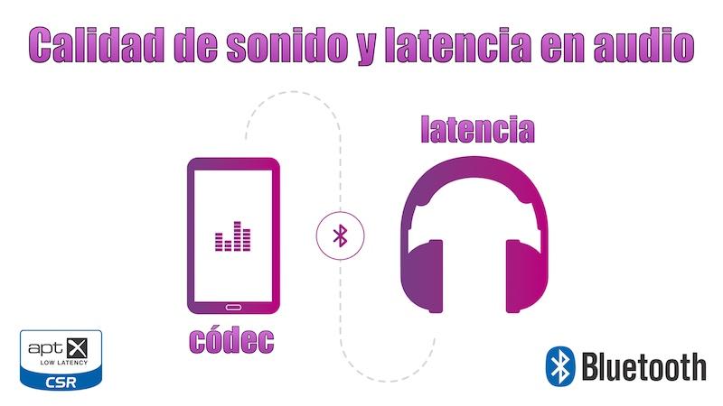 auriculares inalámbricos calidad de sonido y latencia