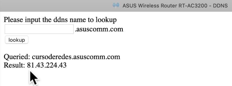 Ejemplos prácticos del curso de redes asuscomm.com