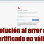 certificado-no-valido