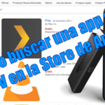 Cómo buscar una app Fire TV dentro de la Store de Amazon