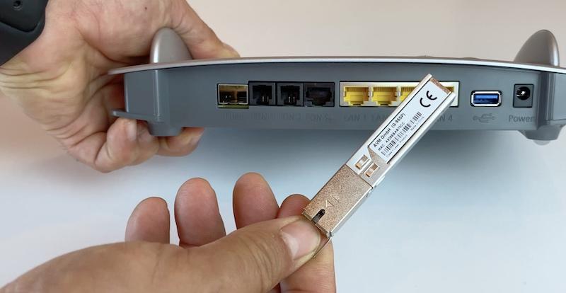 conector sfp router