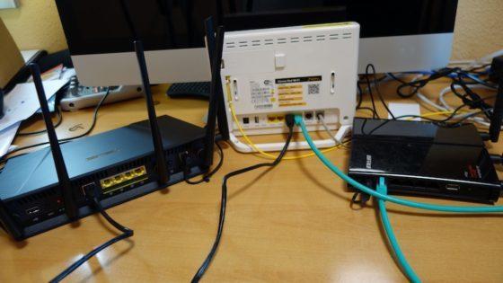 conexion routers subredes para aumentar la seguridad