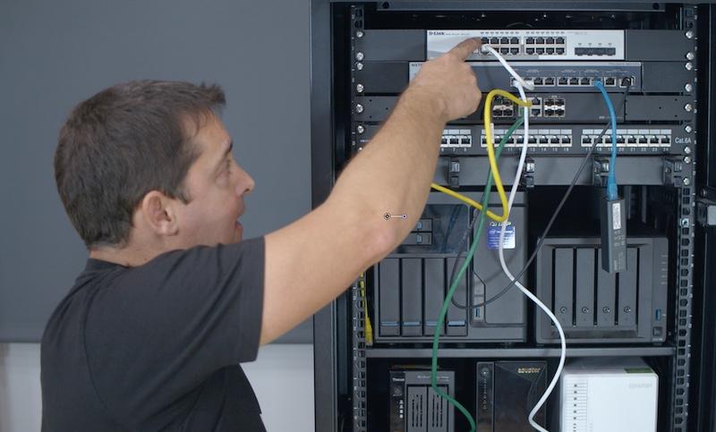 conexiones red interna y red externa