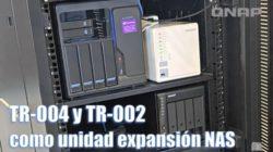 configuración QNAP TR-004 unidad expansión NAS