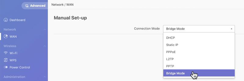 configuración router amber pro