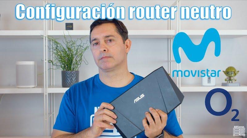 Configuración router ASUS Movistar y O2