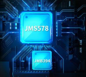 doble controlador JMS578+JMB394