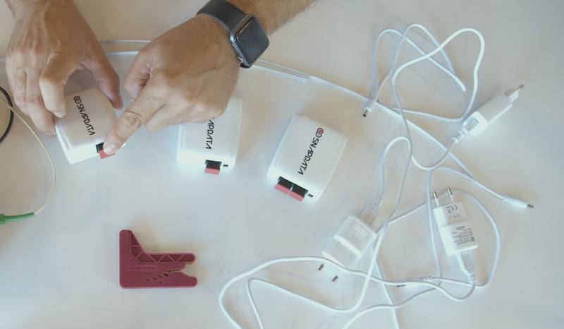 conversor de medios fibra optica plastica de actelser
