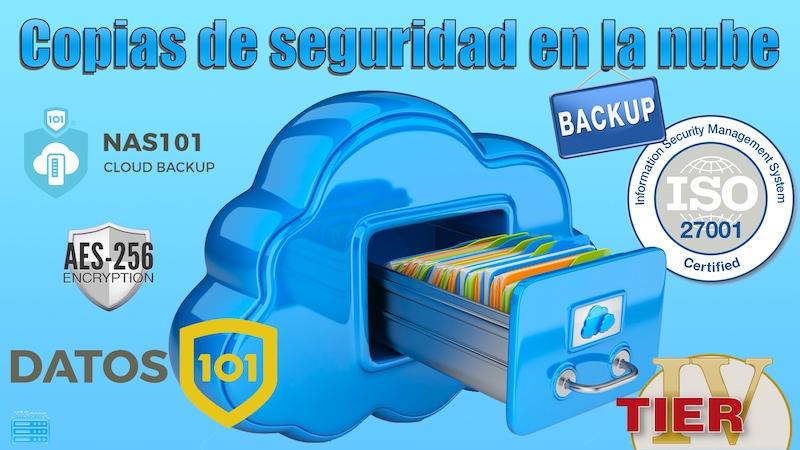 copias de seguridad en la nube con Datos101