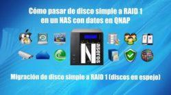 disco simple a RAID 1 QNAP