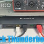 Dock station thunderbolt 3 de Orico