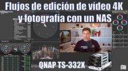 edición de vídeo QNAP TS-332X