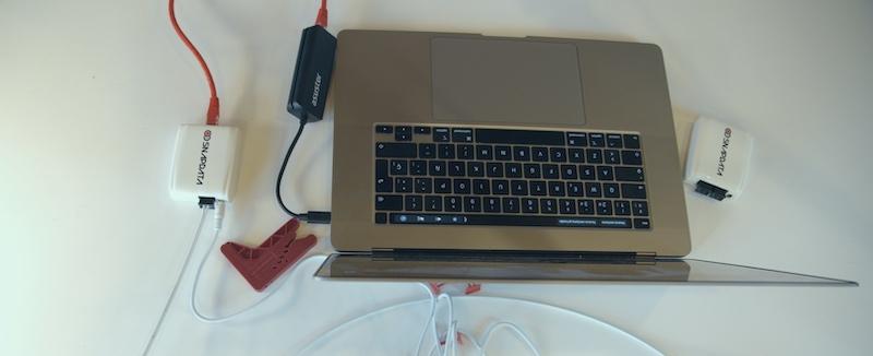 fibra plástica acelser macbook