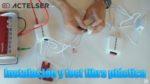 Instalación y test de velocidad fibra plástica (POF) de Actelser