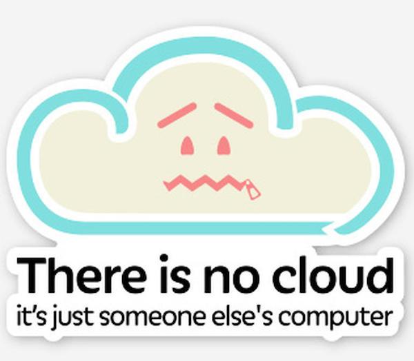 la nube no existe