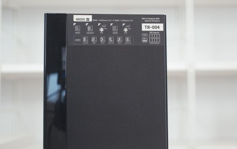 modos RAID QNAP TR-004 y TR-002