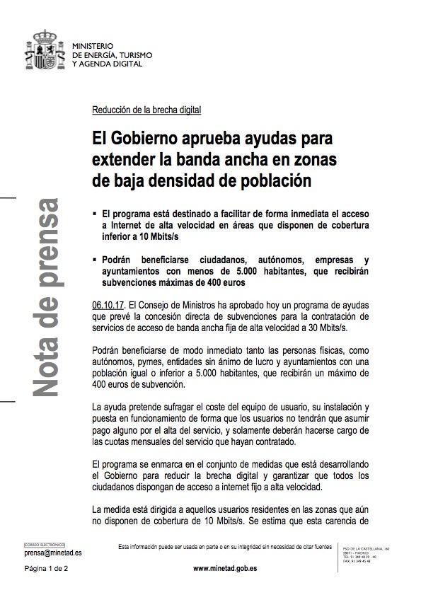nota prensa ayuda de hasta 400€ parte1