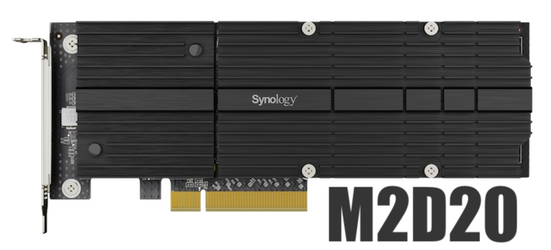 pcie synology M2D20