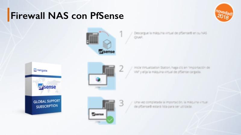 pfsense firewall qnap qts-4.3.5