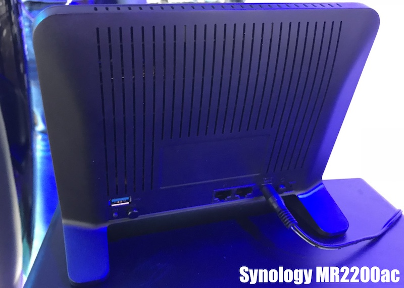 puertos synology MR2200ac