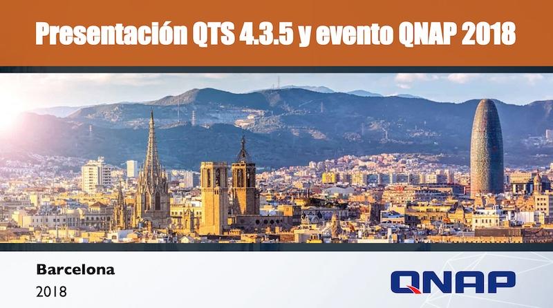 qnap qts 4.3.5 evento 2018