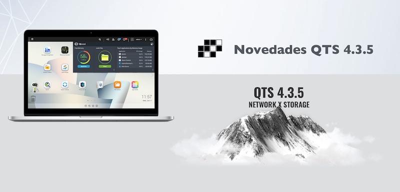 QNAP qts 4.3.5 novedades