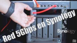 Como montar una red multigigabit 5GbE en Synology