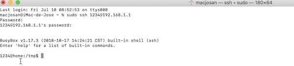 registro SSH Sagemcom Fast 5655v2