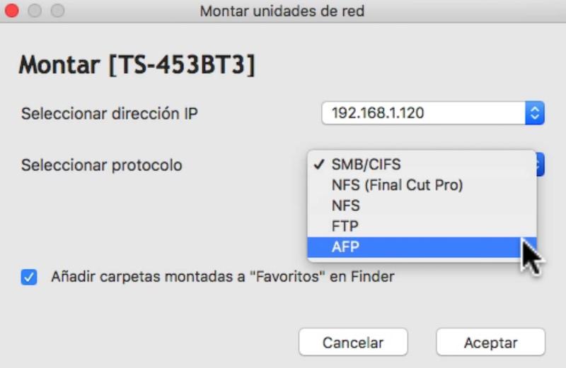 rendimiento Thunderbolt del TS 453BT3 configuración protocolo conexión