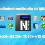 rendimiento multimedia del QNAP HS-251+