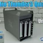 Review Akitio Thunder3 Quad X