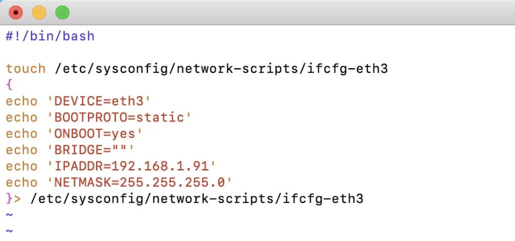 script autoarranque adaptador de red USB en Synology