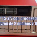 serie TS-1277 qnap amd ryzen