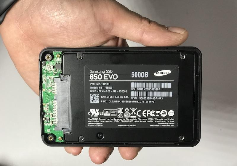SSD cifrador de discos