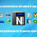 switch gestionado D-Link DGS-1210