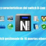 switch gestionado D-Link DGS-1210