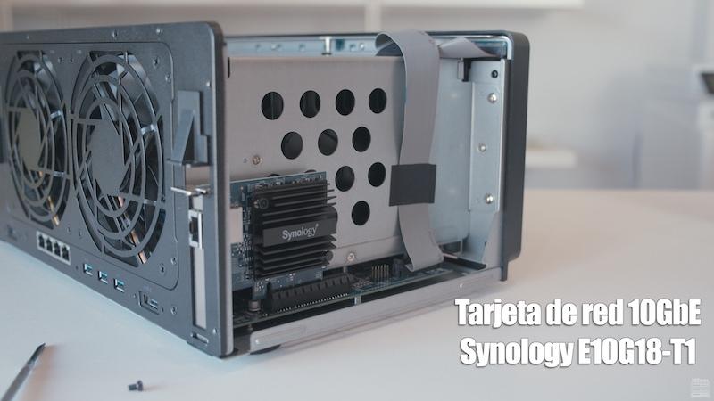 tarjeta de red PCIeE10G18-T1 de Synology