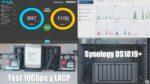 Test 10Gbps del Synology DS1819+ y agregación de 4 enlaces (LACP)