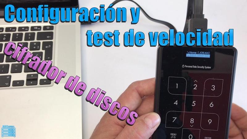 test de velocidad del cifrador de discos